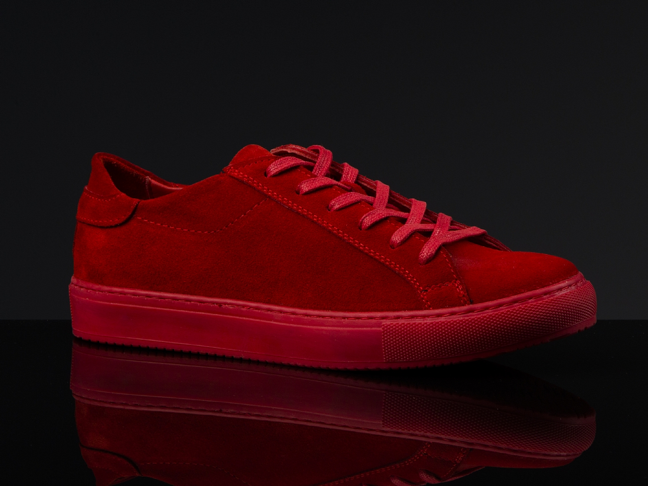 102 Red Suede